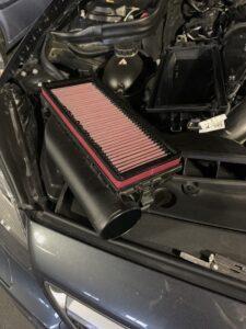 UPD Air intake Riser with K&N Air filter m278 Mercedes Engine