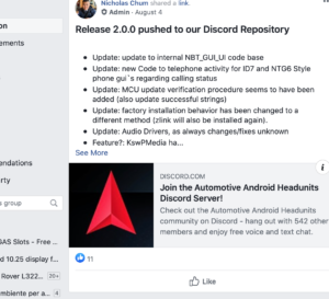 Check out facebook groups related to mods and models