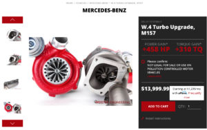 Weistec Turbo Upgrade for M157 Delivers 1000hp