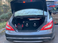 Mount an Amplifier in a Mercedes Benz CLS C218, W212